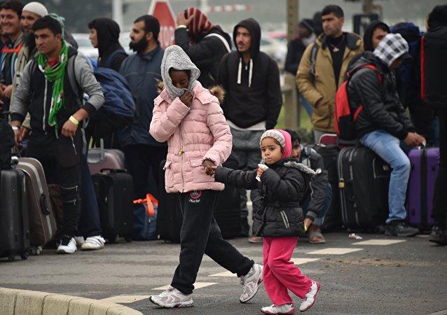 Situation dans le camp de Calais