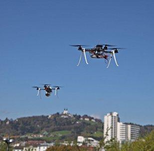 Un «essaim» de mini-drones, nouvelle super-arme du Pentagone?