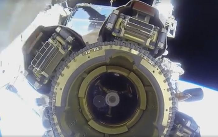 En direct depuis l'ISS