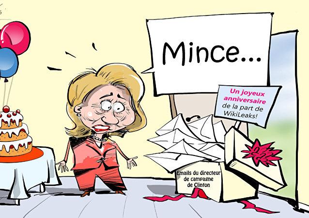 Un joyeux anniversaire de la part de WikiLeaks!