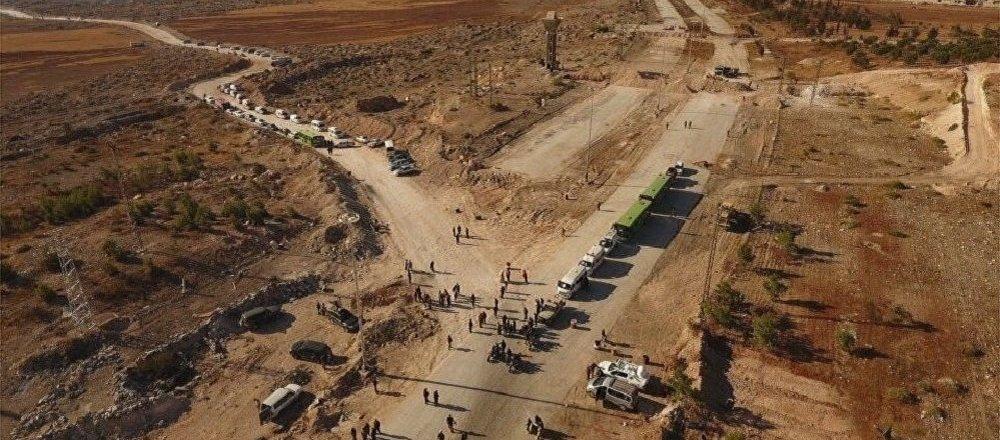 Couloir humanitaire pour assurer la sortie de la ville d'Alep