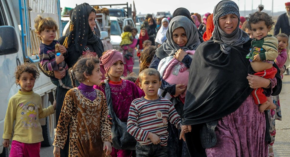Les réfugiés de Mossoul