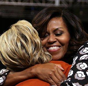 Michelle Obama et Hillary Clinton