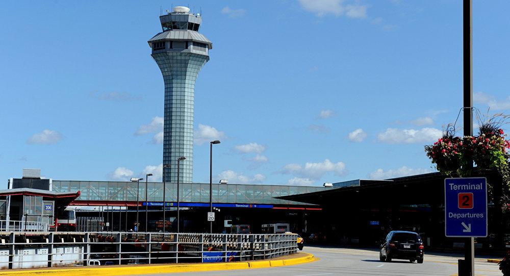 l'aéroport international O'Hare de Chicago