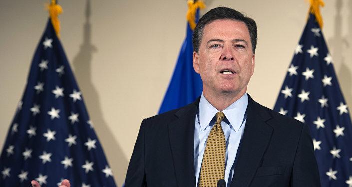 Le directeur du FBI James Comey