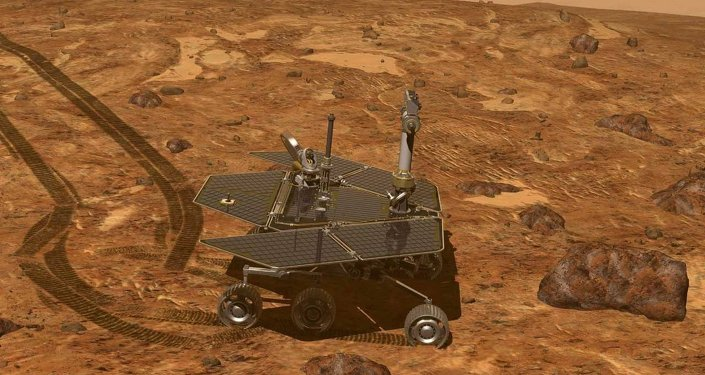 Le rover martien Opportunity