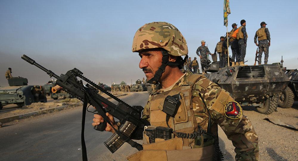 Les militaires irakiens (image d'illustration)