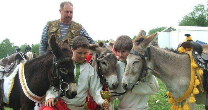 Le quotidien dans la première ferme d'ânes du Kamtchatka