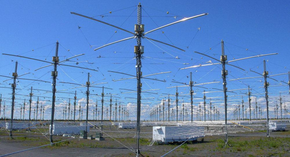 Les antennes de HAARP en Alaska.