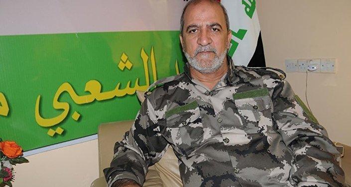 Irfan Abdulselam Muhammed, commandant adjoint de l'unité turkmène de Hachd al-Chaabi