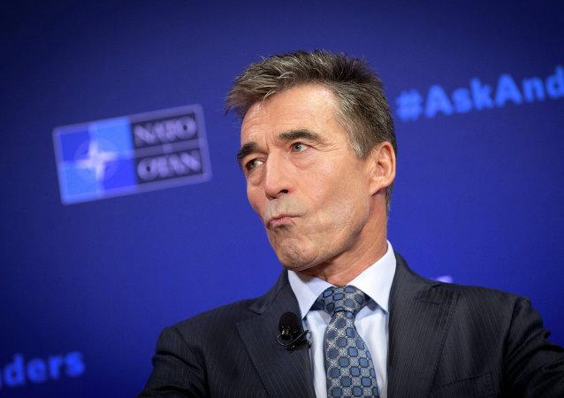 L'ex-secrétaire général de l'Otan Anders Fogh Rasmussen