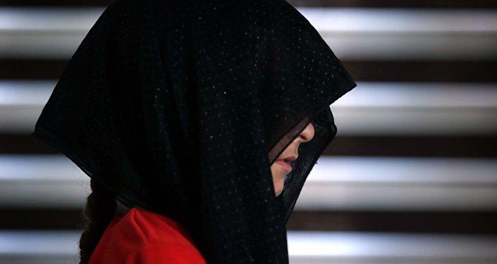 Une jeune femme yézidie. Image d'illustration