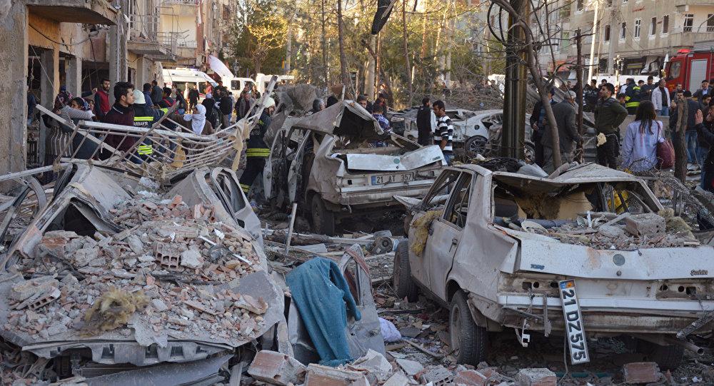 Turquie: 8 morts et plus de 100 blessés dans un attentat de Diyarbakir