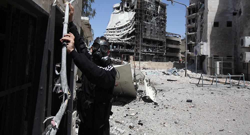 Assaut contre Mossoul: les USA s'attendent à de vastes attaques chimiques. Image d'illustration