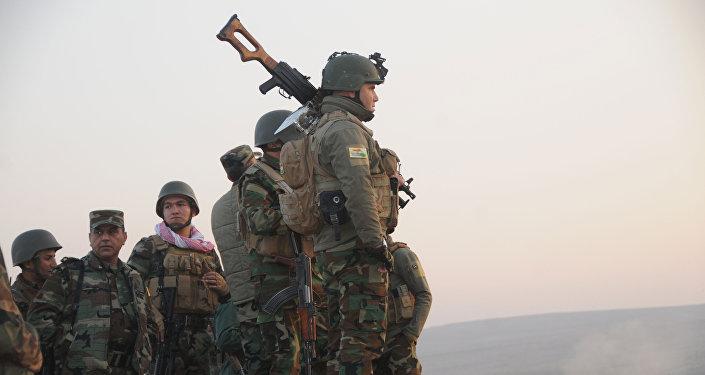 Les USA,  l'Allemagne et la Grande-Bretagne formeront les forces peshmergas en Irak