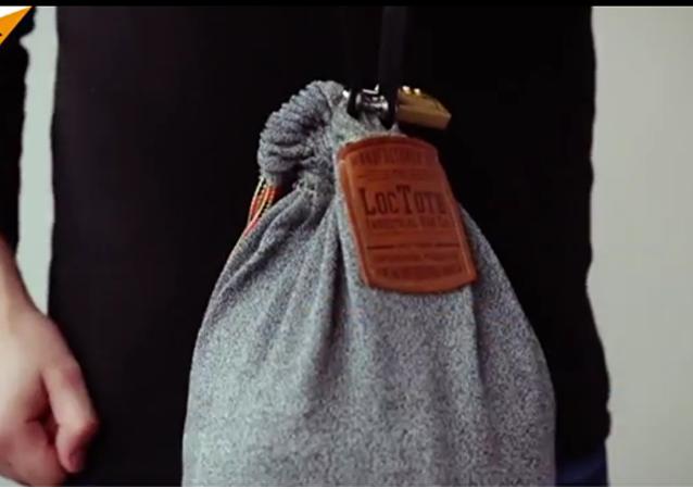 Un sac à dos comme un coffre-fort
