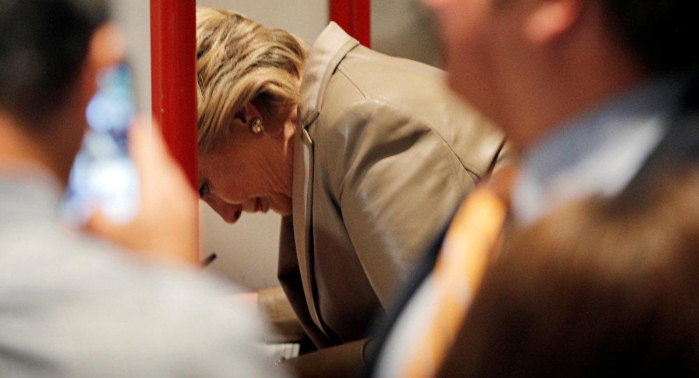 La candidate democrate à la présidence américaine Hillary Clinton