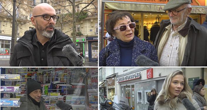 Que pensent les parisiens des élections aux États-Unis?