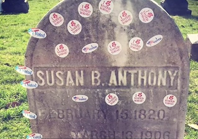 La tombe de Susan Brownell Anthony
