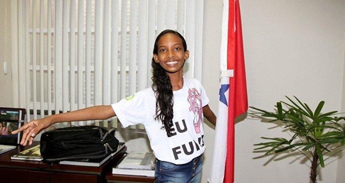Un rêve devenu réalité: une fillette brésilienne à l'école du Bolchoï