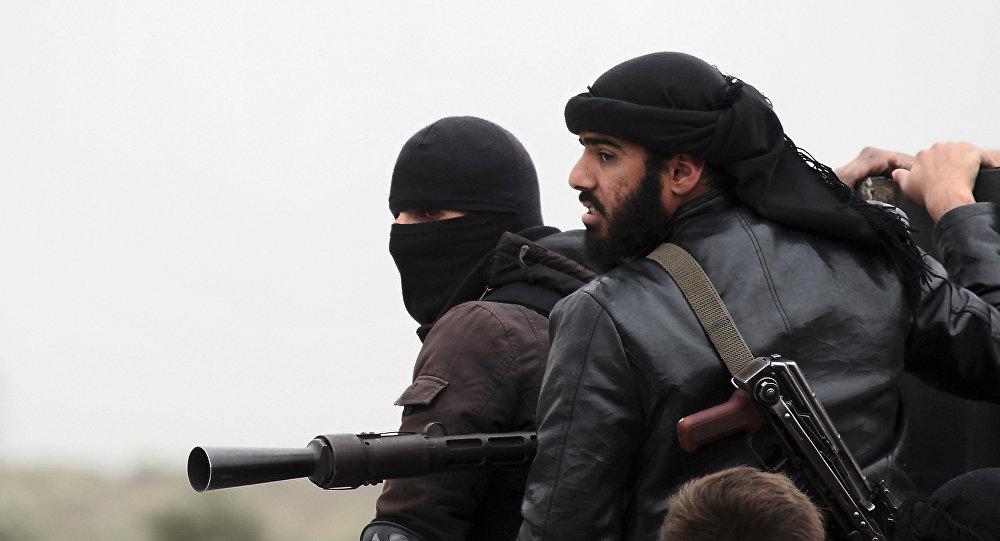 Des combattants du Front-al-Nosra. Archive photo