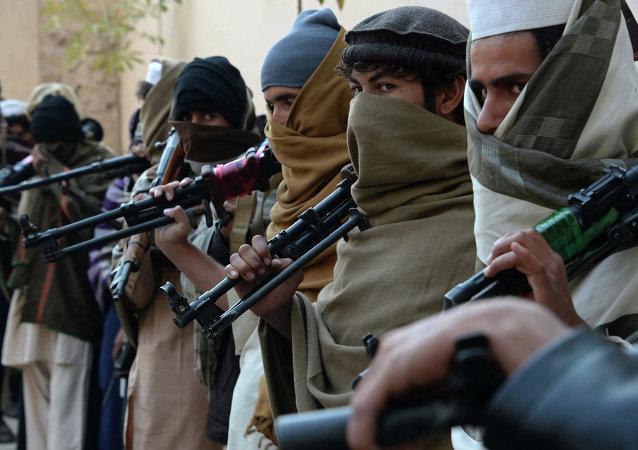 Combattants du Taliban