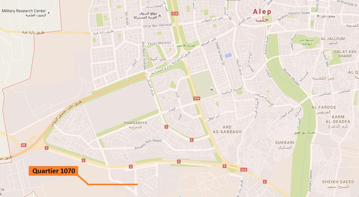 Quartier 1070, Alep