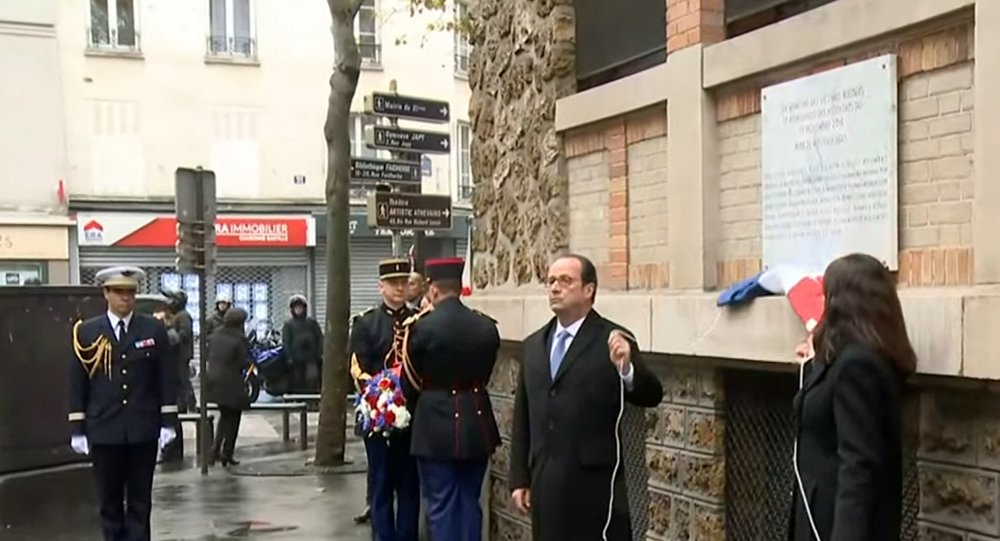 La France commémore les victimes des attentats du 13 novembre