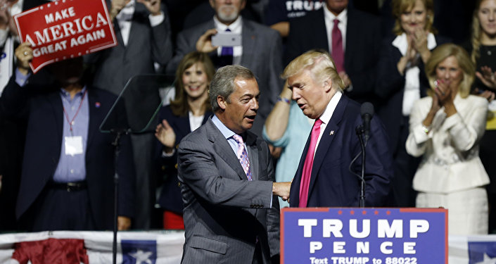 Donald Trump et Nigel Farage