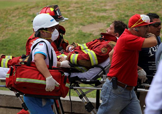 Huit morts, 13 portés disparus dans un grand incendie au Pérou