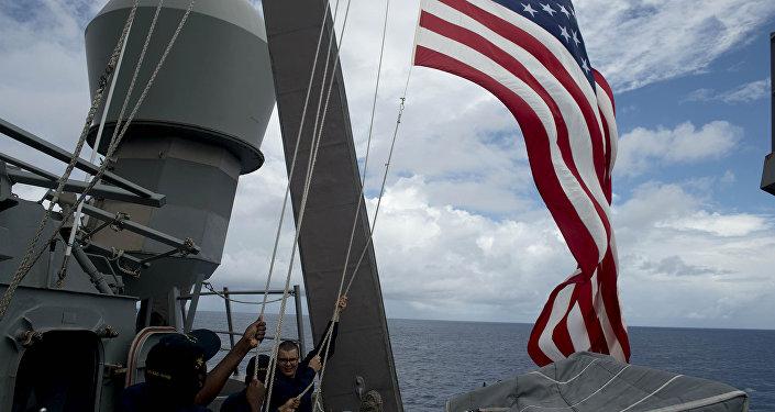 Soldats de la Marine américaine (image de démonstration)