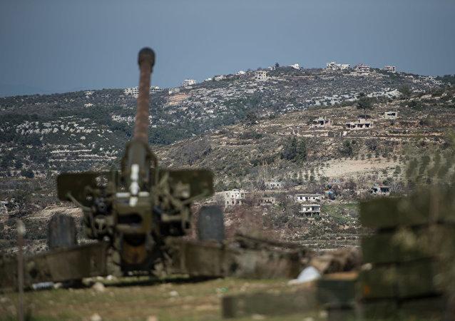 L'offensive de l'armée syrienne aux alentour d'Idlib