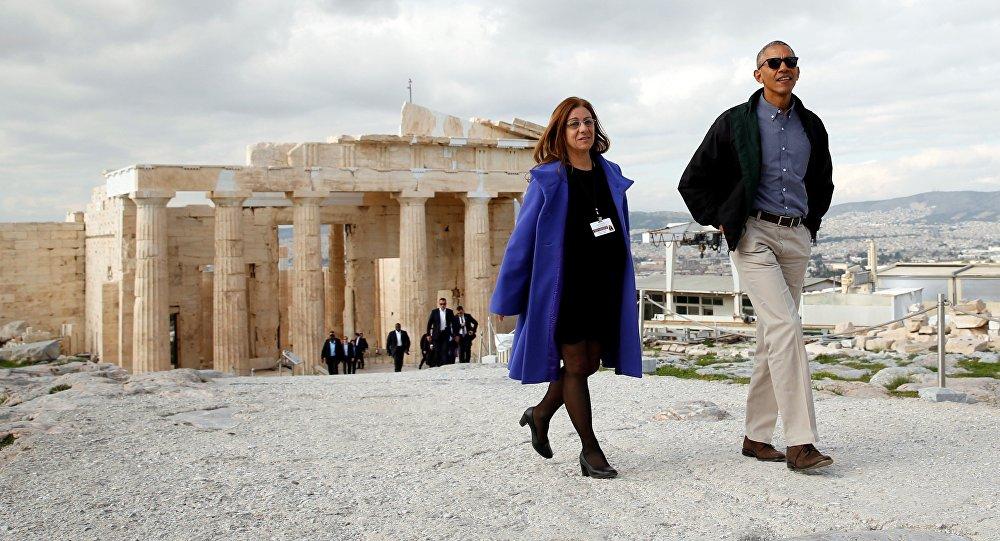 La visite de Barack Obama à Athènes