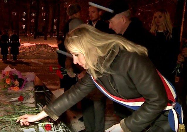Marion Maréchal-Le Pen à Moscou
