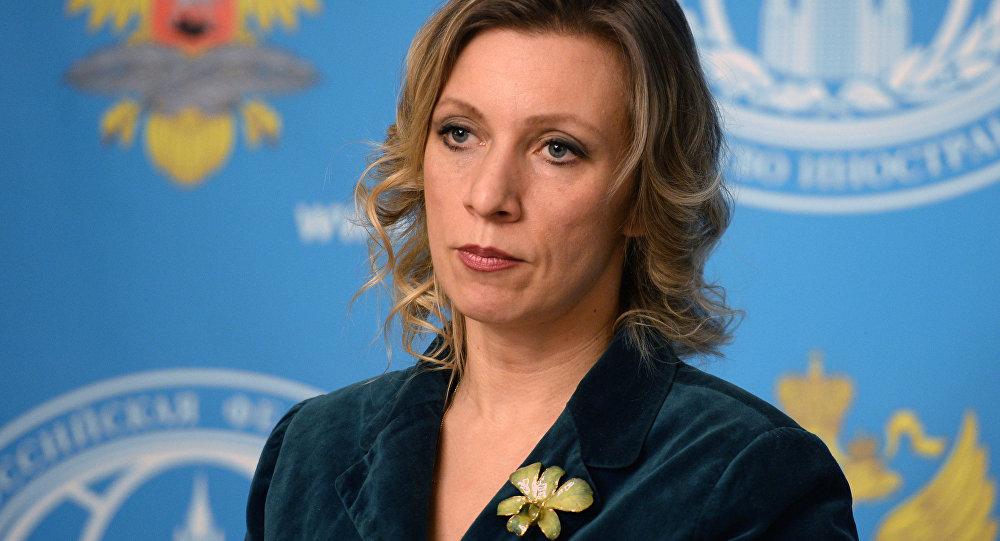La porte-parole de la diplomatie russe Maria Zakharova