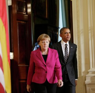 Angela Merkel et Barack Obama