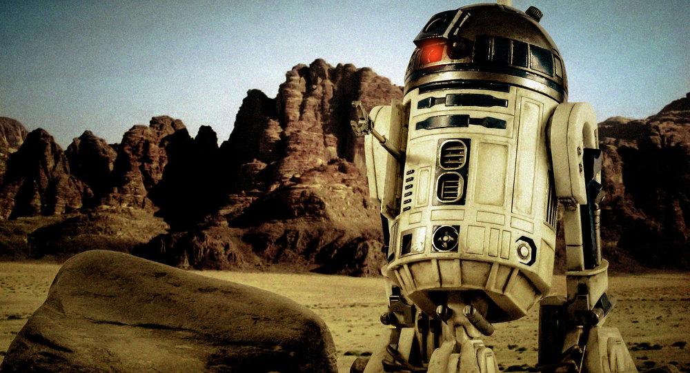 Le robot R2-D2 des Star Wars