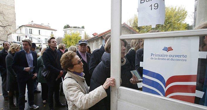 Le premier tour de la primaire de la droite en France