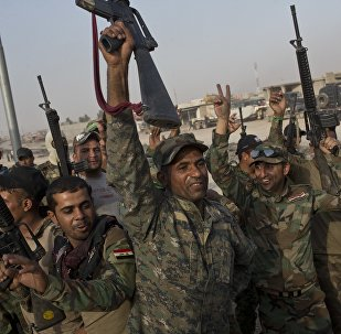 Armée irakienne près de Mossoul