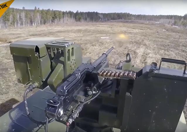 Un nouveau système robotique de sécurité de lance-missiles testé en Russie