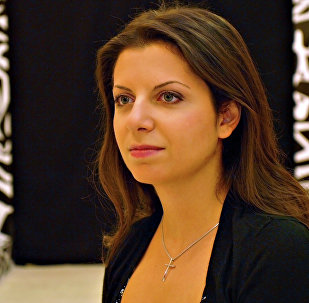 Margarita Simonyan, the editor-in-chief of RT and Rossiya Segodnya