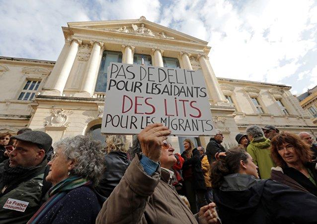 Mobilisation à Nice