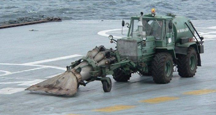 Ce tracteur russe qui a stupéfait l'Otan
