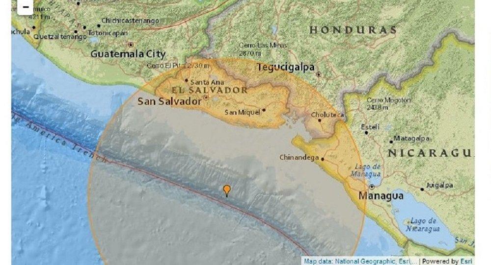 Un séisme de magnitude 7,2 frappe la côte pacifique de l'Amérique centrale
