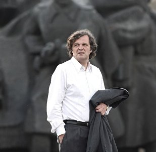 Film director Emir Kusturica.Farewell Business. 2009