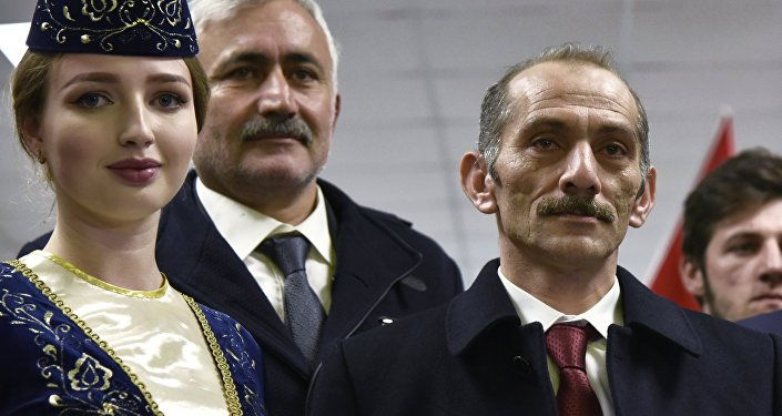 Délégation tturque en Crimée