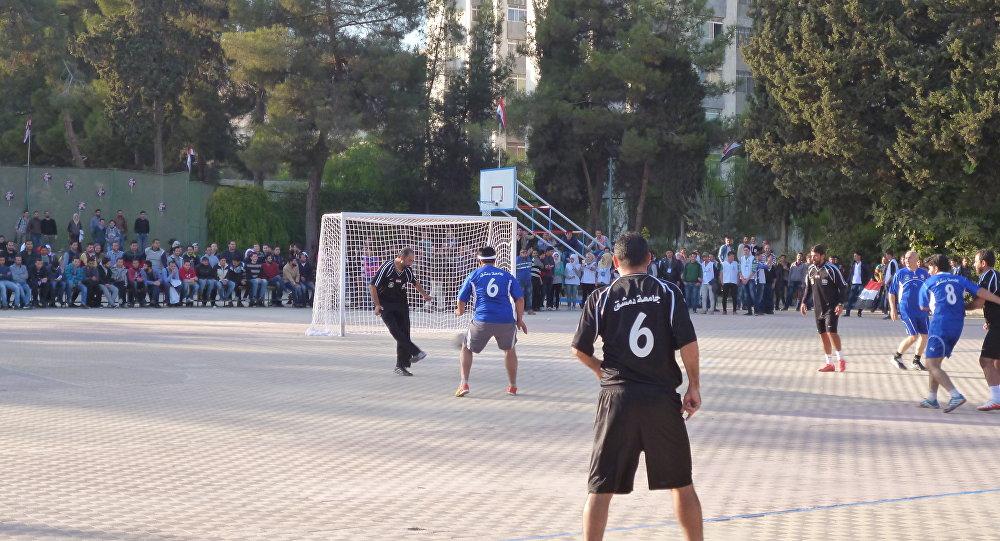 В Сирии начали играть в футбол для прекращения войны