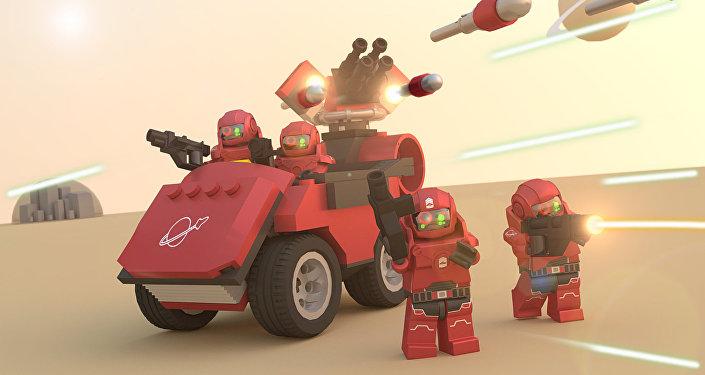 La Main du Kremlin à la conquête de Mars...