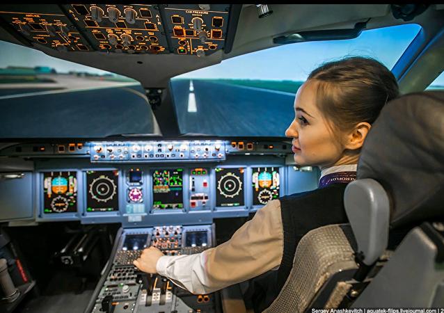 Maria Fedorova, la plus jeune pilote russe