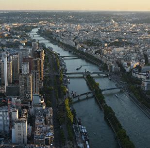 Река Сена в Париже